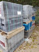 10No pallets of assorted paving blocks and bricks