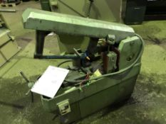 WICKSTEED POWER HACKSAW Sourced directly from a small sized training centre, relocated for ease of