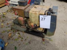 250 Amp D Weld – Welding Plant. Working / Magnets may need to be re-energised LOT LOCATION: 2 Main