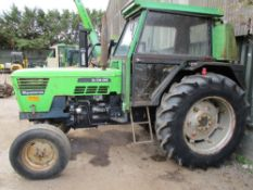 DEUTZ SYNCRON D7206 2WD AG TRACTOR REG: JUB815V LOG BOOK TO APPLY FOR WHEN TESTED WAS SEEN TO DRIVE,