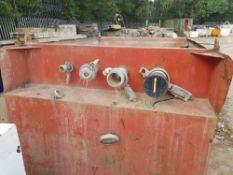 Red Sediment Tank LOT LOCATION: TN14 6EP. OKEEFE STORAGE YARD, 2 Main Road, Sundridge, Nr Sevenoaks,