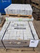 Granite Sets - 100 x 100 blocks LOT LOCATION: TN14 6EP. OKEEFE STORAGE YARD, 2 Main Road, Sundridge,