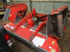 TRIMAX STEALTH S2 340 TOWED BATWING ROLLER MOWER YEAR 2010 APPROX