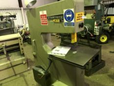 STARTRITE 24-T-10 BANDSAW C/W SPARE BLADES AS SHOWN Sourced directly from a small sized training