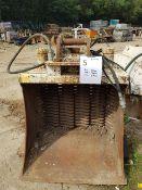 Screener Bucket – EX140. Ex Worsley plant (O'Keefe Ref ESC10) Pin Dimension 65mm, Centres 380mm,
