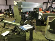 MEDDINGS PILLAR DRILL Sourced directly from a small sized training centre, relocated for ease of