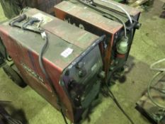 2 X MIG WELDERS, LINCOLN AND MUREX, SOURCED FROM COMPANY LIQUIDATION