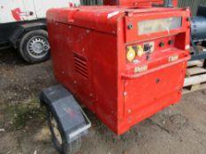 Arcgen Weldmaker 300 AVC towed welder, yr2008 PN: 8048FC SN:1302143 WHEN TESTED WAS SEEN TO RUN