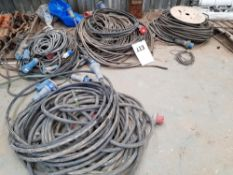 Various Electrical Cables 32amp & 415V
