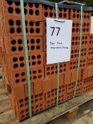 3No pallets of Engineering Bricks