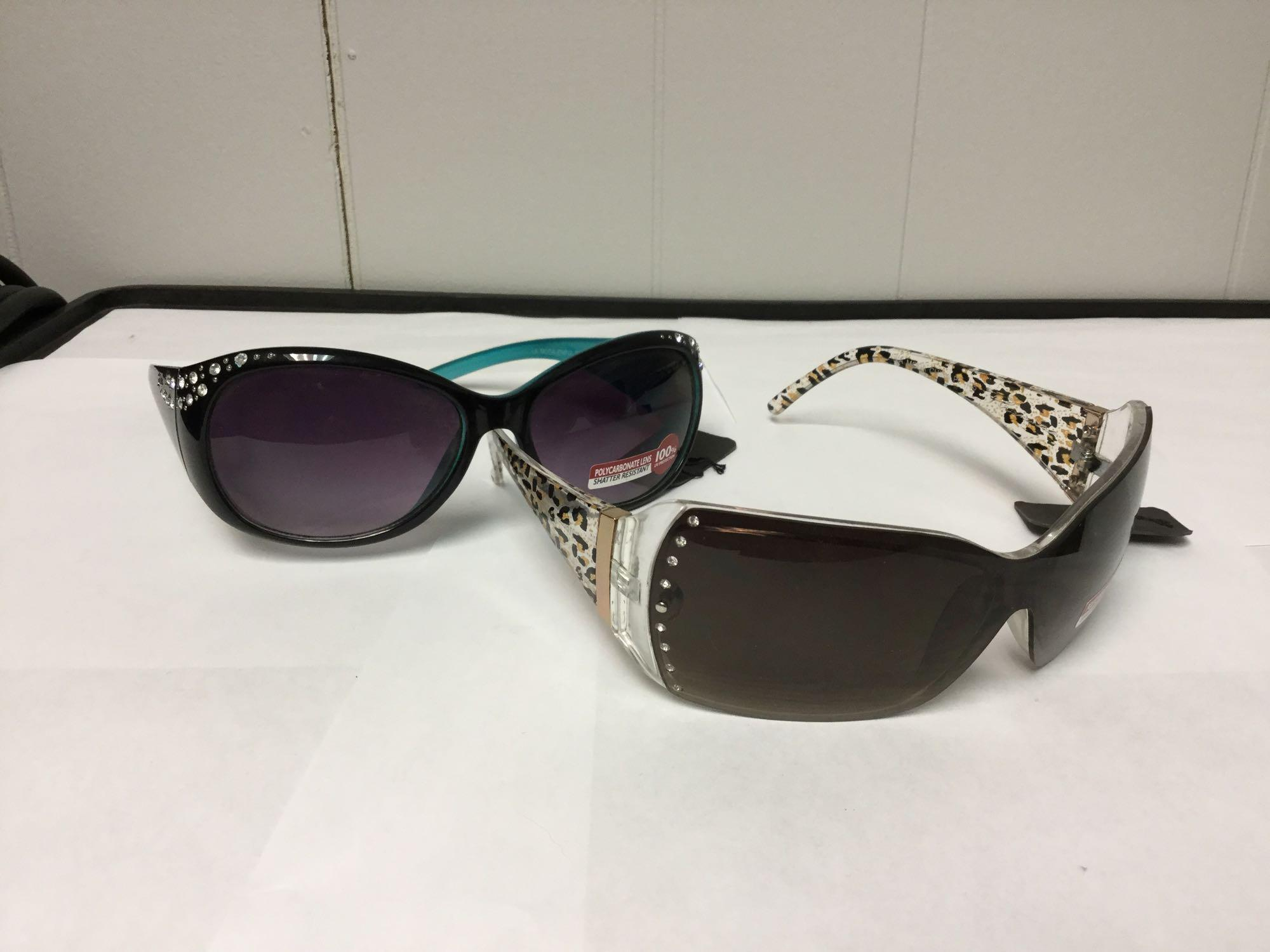 Lot 16 - Lot of 2 Women's Fashion Sunglasses