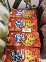 Lot 50 - Lot of 4 x 300 g Chips Ahoy! Chewy Chocolate Chip Cookies