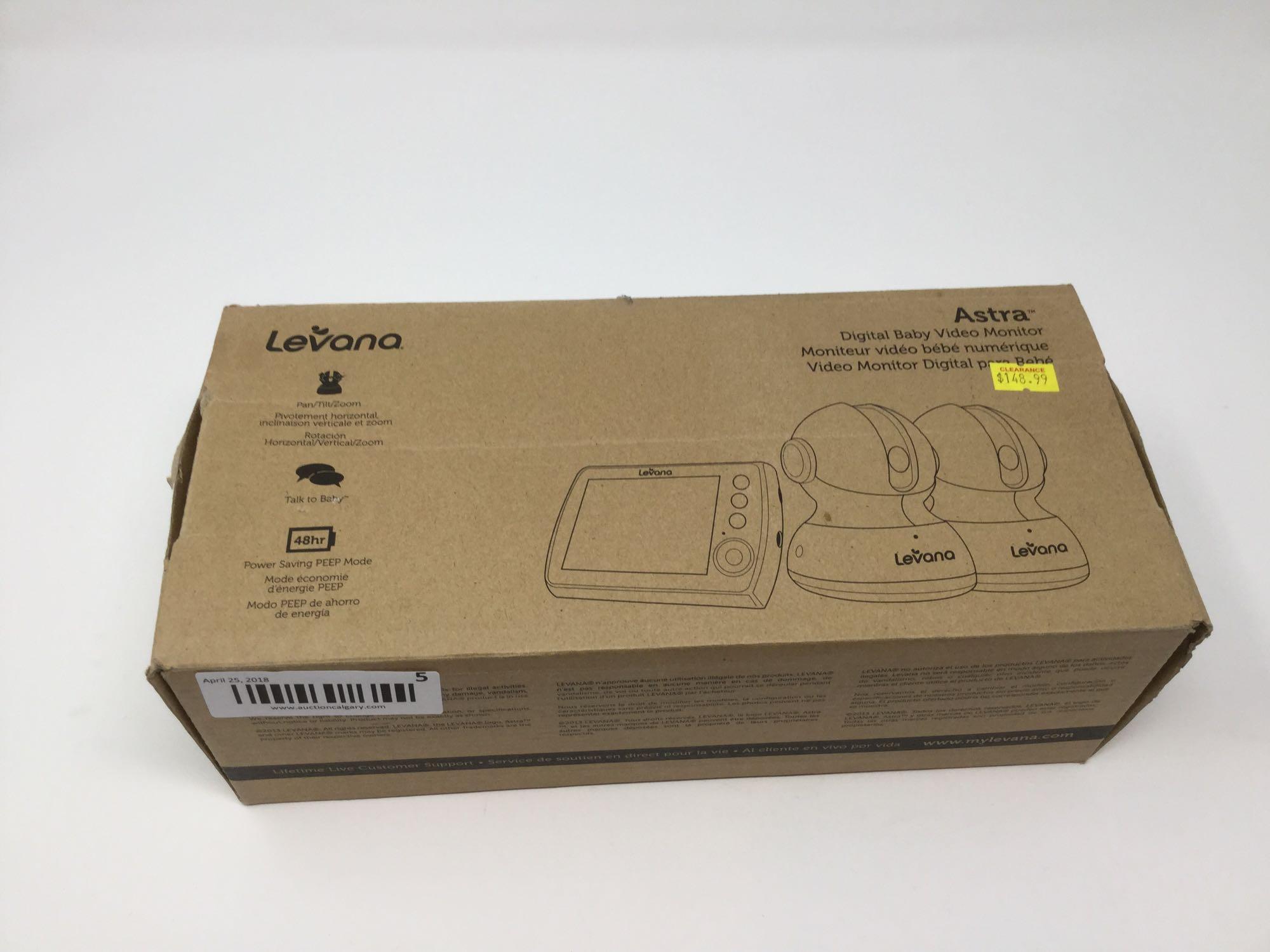 Lot 5 - Levana- Astra Digital Baby Video Monitor