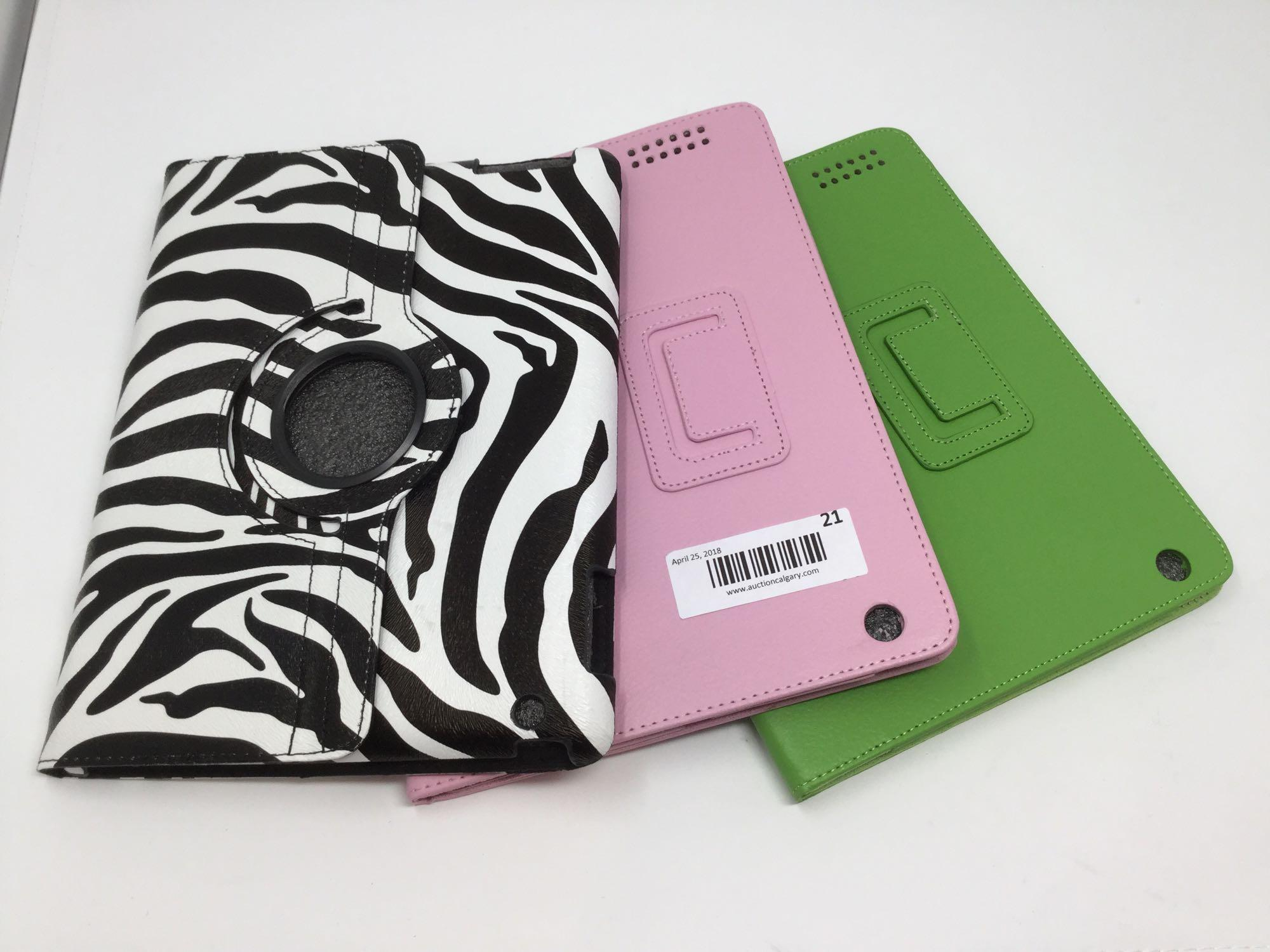 Lot 21 - Lot of 3 - iPad Covers