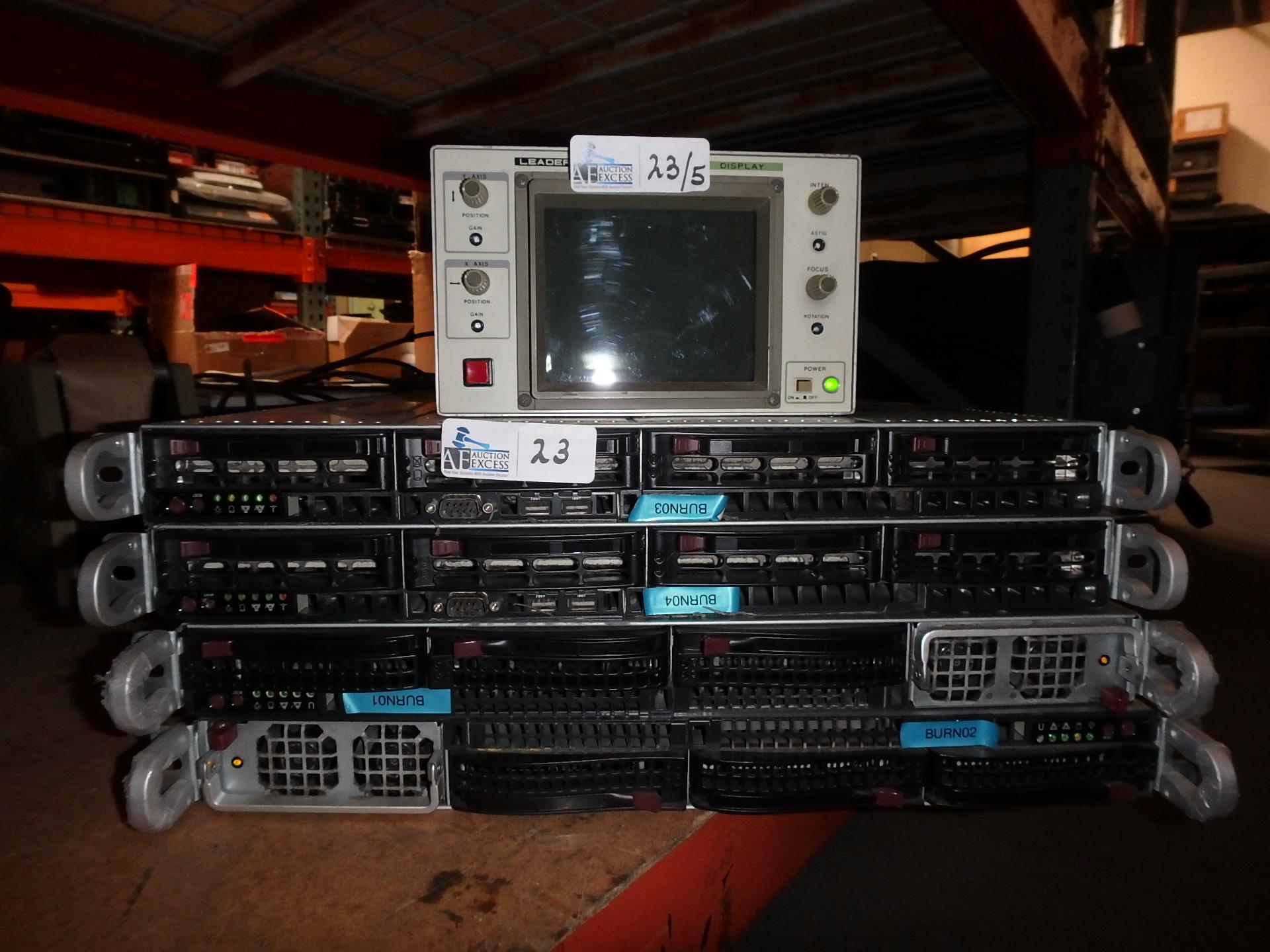 Lot 23 - LOT OF 5 ELECTRONICS