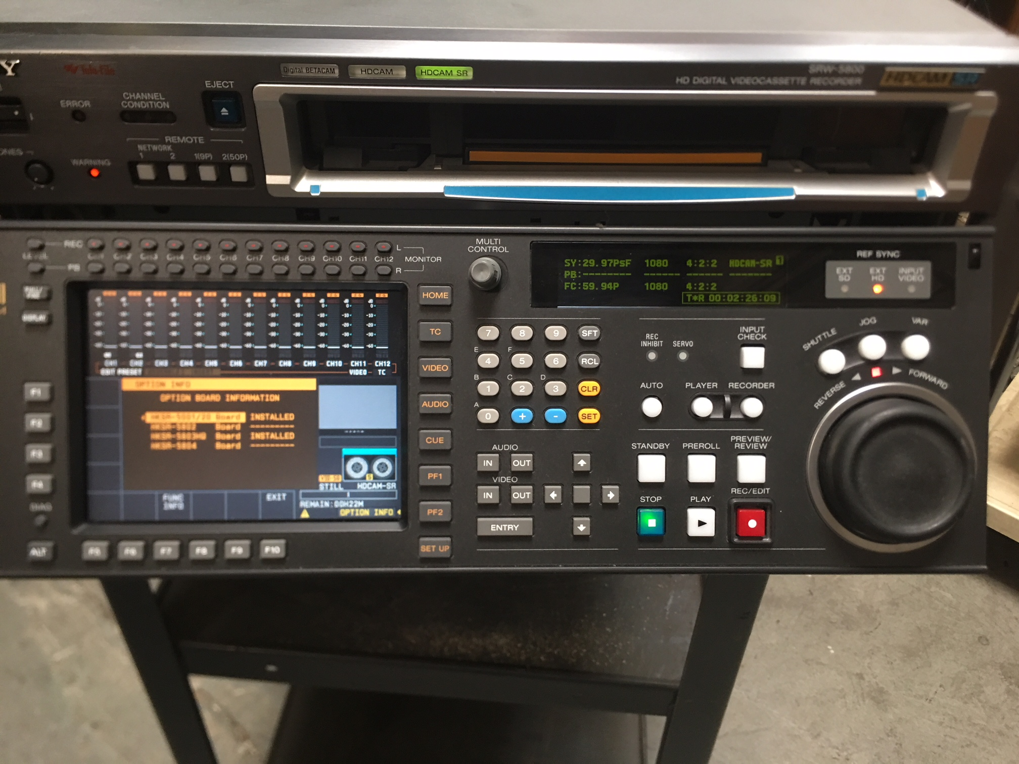 Lot 11 - SONY SRW-5800