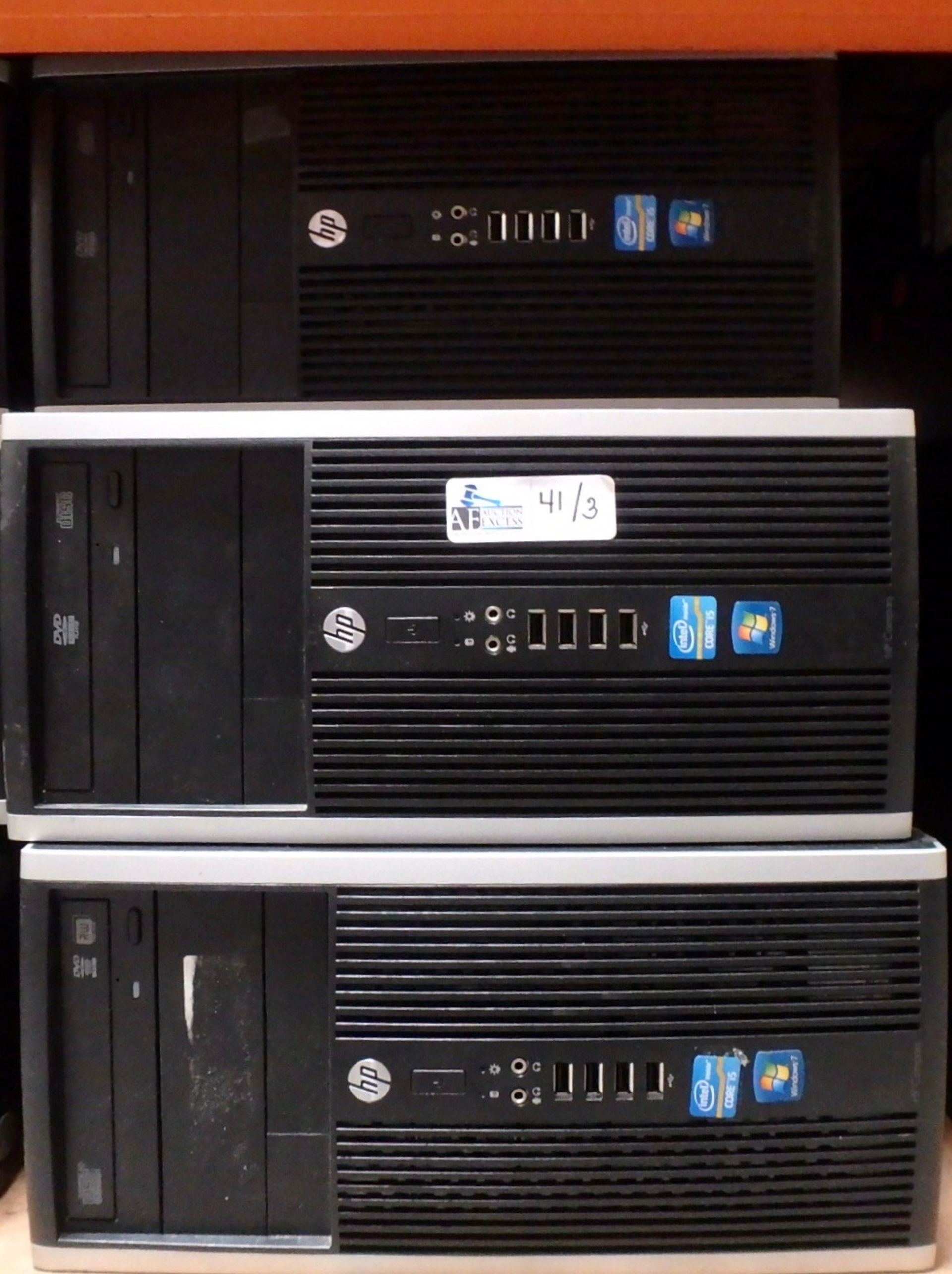 Lot 41 - LOT OF 3 HP COMPUTERS