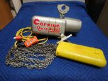 Lot 301 - COFFING QUICK LIFT 1/4 TON (NEW CORDS AND UP/DOWN CONTROL