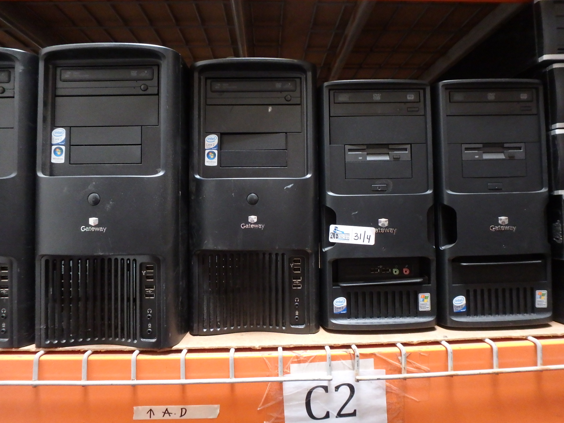 Lot 31 - LOT OF 4 GATEWAY COMPUTERS