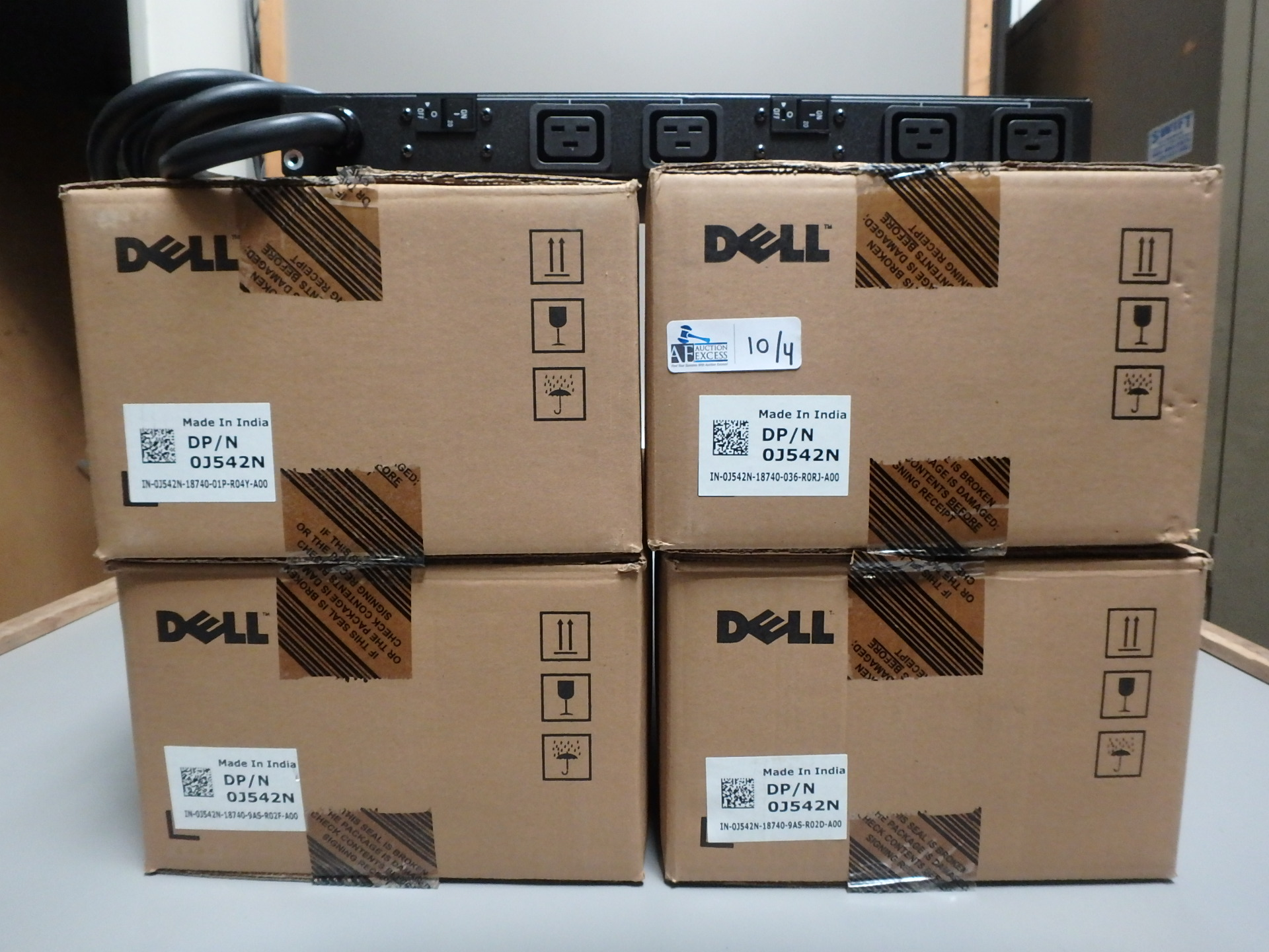 Lot 10 - LOT OF 4 DELL