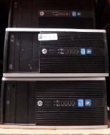 Lot 42 - LOT OF 4 HP COMPUTERS
