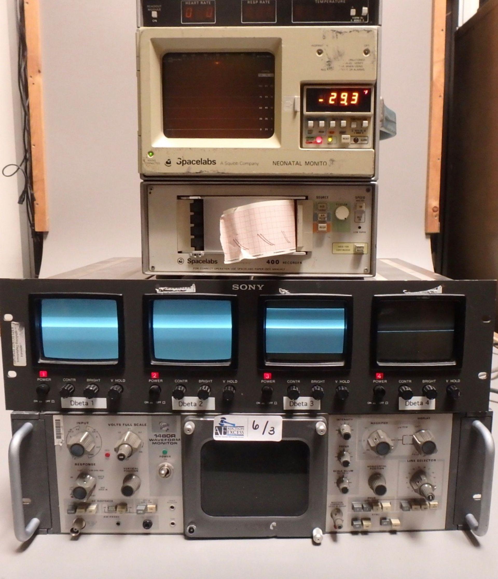Lot 6 - LOT OF 3 ELECTRONICS