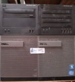Lot 34 - LOT OF 2 DELL OPTIPLEX