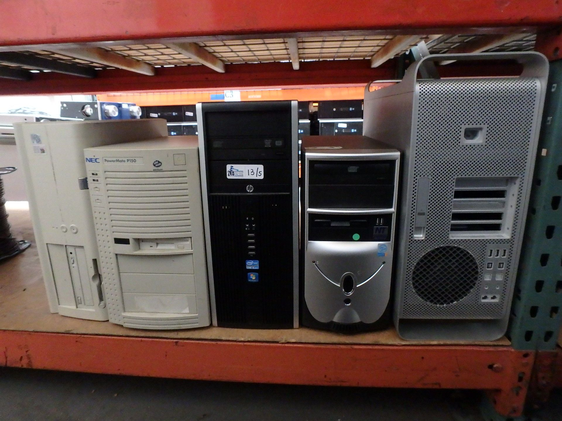 Lot 13 - LOT OF 5 COMPUTERS