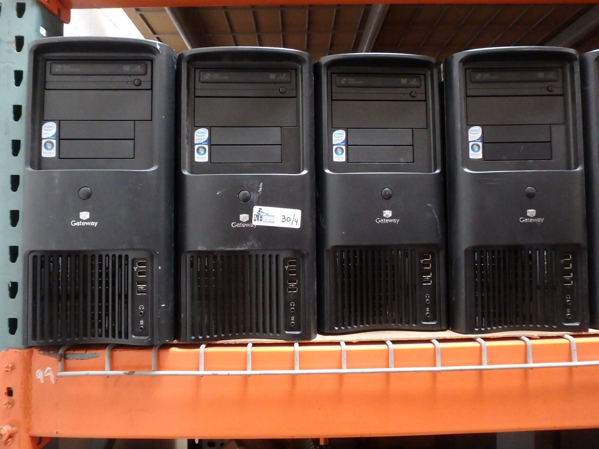 Lot 30 - LOT OF 4 GATEWAY COMPUTERS