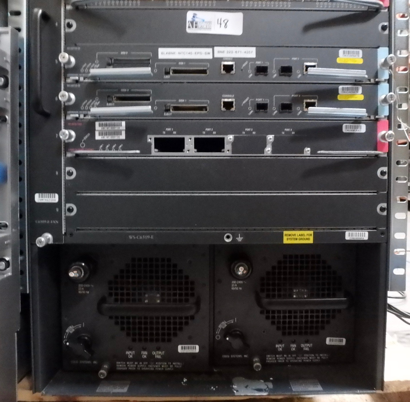 Lot 48 - CISCO SYSTEMS CATALYST