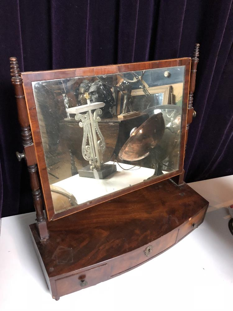 Lot 14 - Dressing table mirror