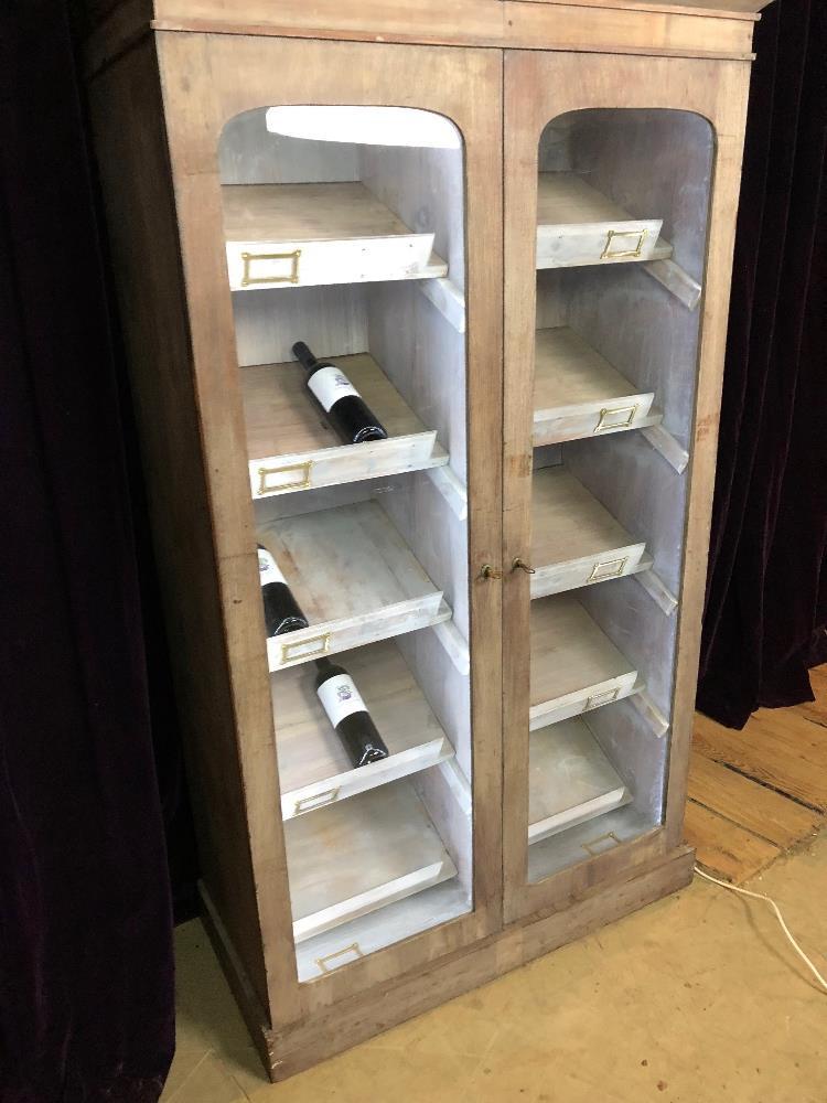 Lot 1 - Wine Cabinet
