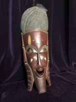 Lot 27 - African mask