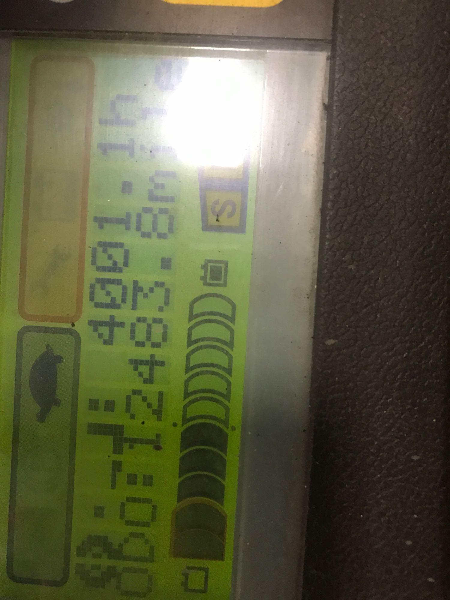 Lot 28 - 2013 TOYOTA 7FBEU15 ELECTRIC FORKLIFT, 3,000 LB LIFT CAPACITY, TILT, SIDE SHIFT, HYDRAULIC FORK POSI