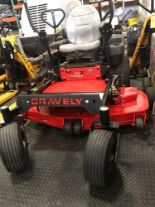 "Lot 18 - GRAVELY 52"" DECK 152Z COMMERCIAL MOWER, 23 HP ENGINE"