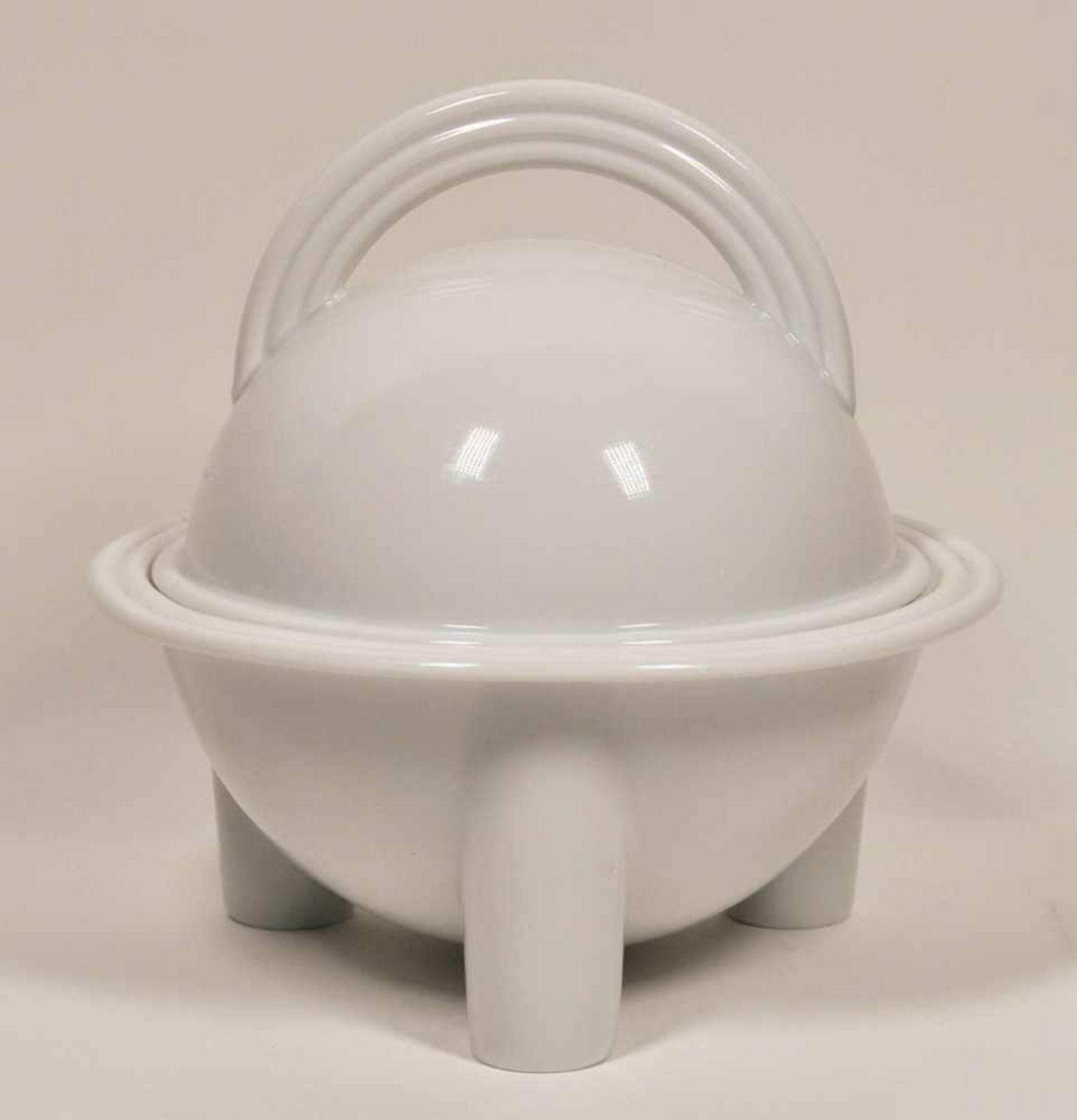 "Los 15 - Terrine, Rosenthal um 1950,""Cupola"", Entwurf von Mario Bellini, Dm 23,7 cm, Höhe 24 cm"
