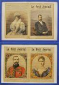 Le Petit Journal, Frankreich 1894/96,Abbildungen von Nicolas Androvitch und Alice von Hessen 1894