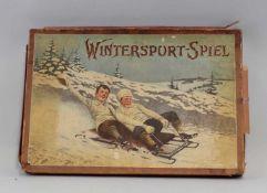 Ravensburger Wintersportspiel um 1910Ravensburger O.L. 229 (ca. 1910), inkl. Spielbrett,