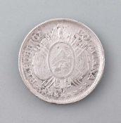 Silber-Münze 50 Centavos Bolivia 1891900er Silber, ca. 12,5 g, Zustand ss-vz