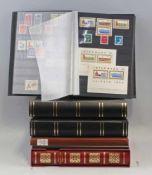 Konvolut Briefmarken DDR + alle Welt6 Alben, gemischt