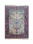 Isfahan Baumwolle auf Wolle, 174 cm x 111 cm