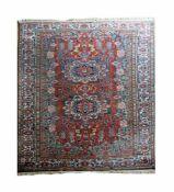 Bachtiari Wolle auf Wolle, 302,4 cm x 211 cm