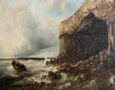 Wilhelm August Leopold Christian Krause (1803 Dessau - 1864 Berlin) Fingal's Cave auf Staffa,