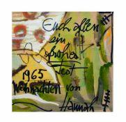 Hannah Höch (Anna Therese Johanne Höch) (1889 Gotha - 1978 West-Berlin) (F) Ohne Titel,