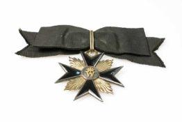 Ordenszeichen des Adeligen Fräuleinstift der Grafschaft MarkPreußen, 1909, vorderseitig mit Krone