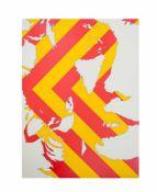 Werner Berges (1941 Cloppenburg - 2017 Schallstadt)Annette, Farbserigrafie auf Chromoluxkarton, 80