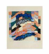 Kurt Kranz (1910 Emmerich - 1997 Wedel)4 Arbeiten, 'Die vier Elemente', Farbserigrafien auf