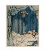 Jules Marie Auguste Leroux (1871 Paris - 1954 ebenda)Paar Arbeiten aus der Serie 'Casanova',