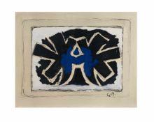 Georges Braque (1881 Argenteuil - 1963 Paris)Pour St. Gallen, Farblithografie auf Papier, 1962/63,