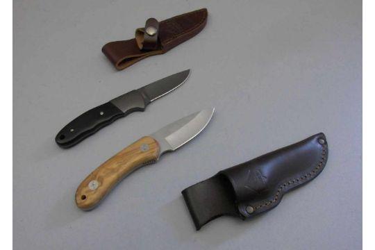 Paar Puma Messer G 220 Rtelmesser Two Knifes Manufaktur Puma